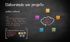 Copy of Elaborando um projeto