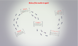 Roles of the media in sport