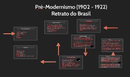 Pré Modernismo