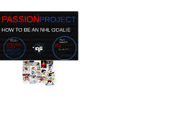 How to be an NHL goaltender