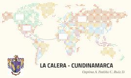 LA CALERA - CUNDINAMARCA