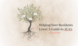 Helping Your Residents Grow: A Guide to ALA's