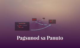 Copy of Pagsunod sa Panuto
