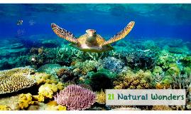 21 Natural Wonders