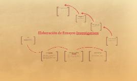 elaboracion de ensayos investigativos