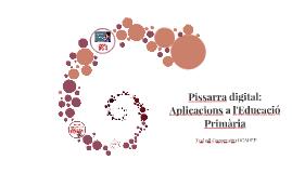 Copy of Pissarra digital: Aplicacions a l'Educació Primària