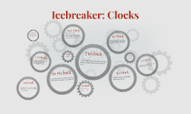 Copy of Icebreaker: Clocks