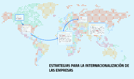 ESTRATEGIAS PARA LA INTERNACIONALIZACIÓN DE LAS EMPRESAS