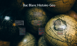 Bac Blanc Histoire-Géo
