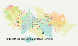 Writing an awesome research paper