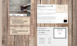 3 - Bible Course - What is the Gospel