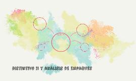 Distintivo H y análisis de empaques