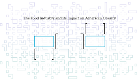 The Food Industry and its Impact on American Obesity