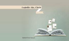 Leopoldo Alas, Clarín