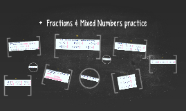 + - Fractions & Mixed Numbers practice