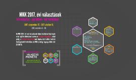 MKK 2017. évi választások