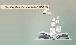 Narrative Short Story Mini-PBL