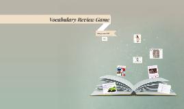 Vocabulary Review Game