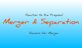 Merger & Separation 1965