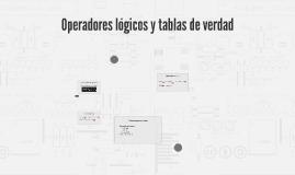 Copy of Operadores lógicos y tablas de verdad