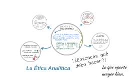 La Ética Analítica