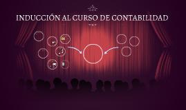 INDUCCIÓN AL CURSO DE CONTABILIDAD