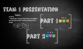 team 2 presentation