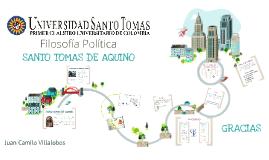 Copy of SANTO  TOMAS DE AQUINO- Pensamiento político