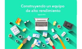 Seminario Construye un equipo (2018)
