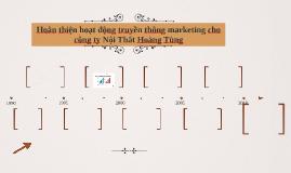 Hoàn thiện hoạt động truyền thông marketing cho công ty Nội
