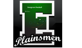 Evergreen Plainsmen Football