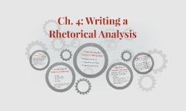 Ch. 4: Writing a