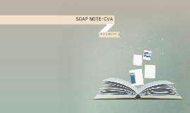 SOAP NOTE-CVA