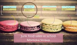 Junk food sales in school
