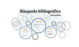 Búsqueda bibliográfica I