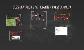 dezvoltarea emotionala