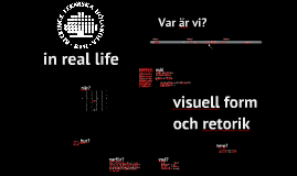 ME1494 visuell form och retorik
