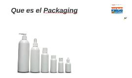 Que es el Packaging