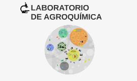 Laboratorio de Agroquímica