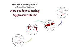 New Student Housing Application