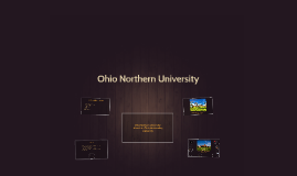 Copy of Ohio Northern University: