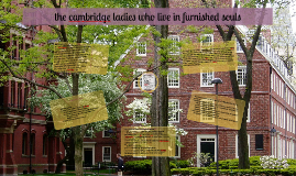the cambridge ladies who live in furnished souls