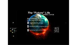 The Future Life II Peter 3:14-18