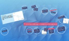 Copy of Economías externas y comercio internacional