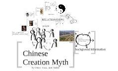 Chinese Creation Myth