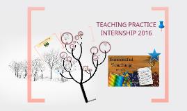 Real Teaching practice internship