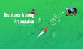 Resistance Training Presentation
