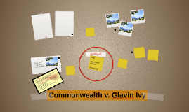 Commonwealth v. Glavin Ivy
