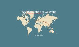 The colonization of Australia