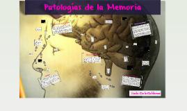 Patologias de la Memoria